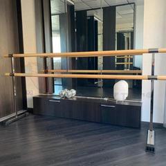 Мобильный балетный станок МН1-2 двухрядный