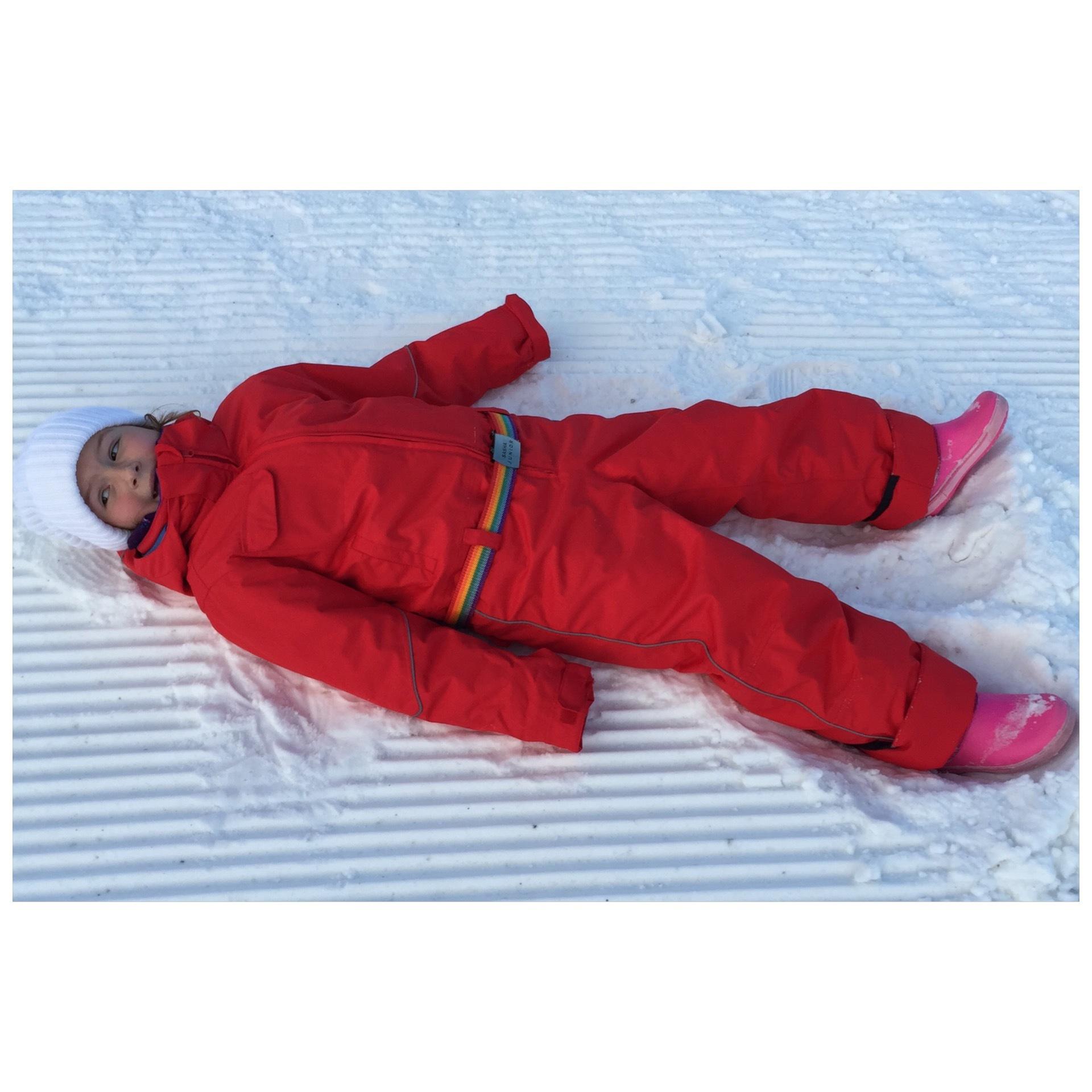 комбинезон детский зимний SASHA JUNIOR красный РЭД