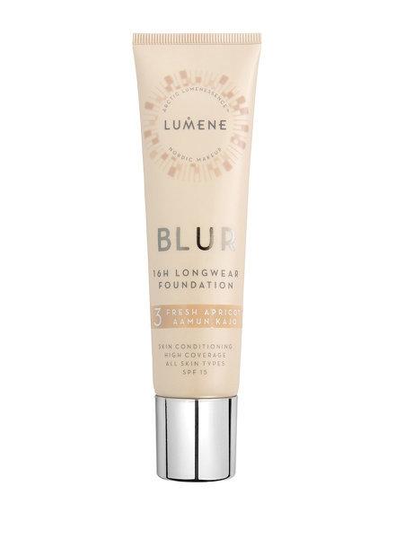 Тональный крем для лица Lumene Blur SPF15 3 Fresh Apricot 30 мл