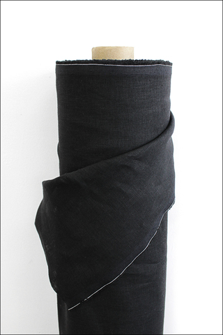 Уголь, лен сорочечный, умягченный