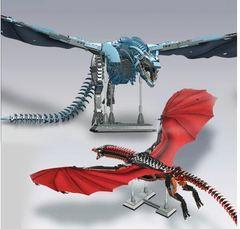 Игра престолов конструктор Визерион и Дрогон