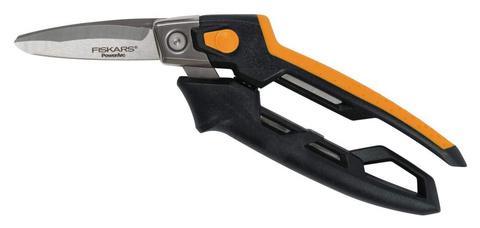 Ножницы Fiskars PowerArc строительные универсальные, 21 см