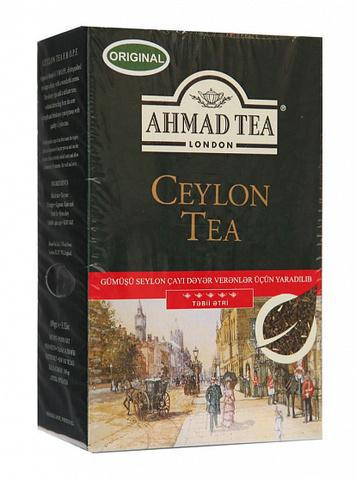 Çay \ Чай \ Tea Ahmad Ceylon qara çay 100 q