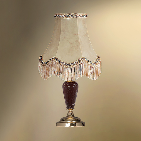 Настольная лампа с абажуром 24-20Ф/3557Ф СТАРЫЙ АРБАТ
