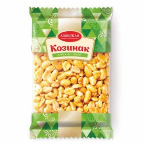 Козинак АЗОВ Арахисовый 170 гр п/пак РОССИЯ