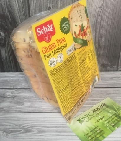 Хлеб зерновой (Pan Multigrano)  250г б/глютен б/лактозы Schar