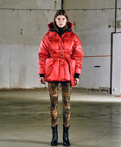 Зимняя куртка Ума coral