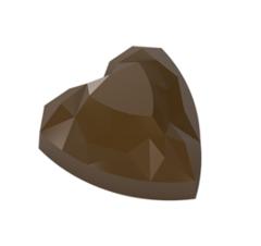 Форма поликарбонатная для шоколада - конфеты Сердечки БРАК