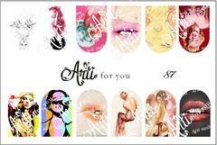 Слайдер наклейки Arti for you №87