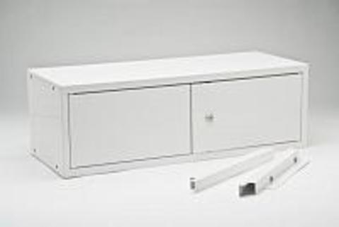 Трейзер(сейф) МЕТ ЭССЕН универсальный к двухстворчатому шкафу шириной 80 см - фото