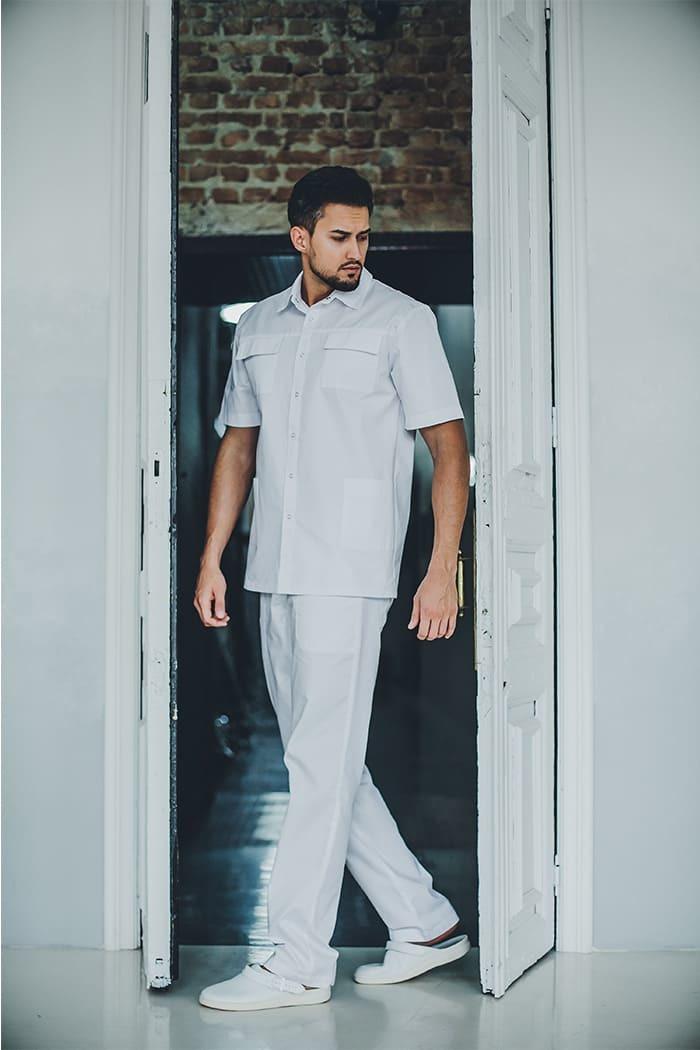 Блуза мужская медицинская М 42