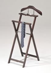 Вешалка костюмная деревянная VT-V-51 (MK-2336) Темный орех