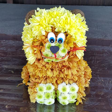 Игрушка из цветов