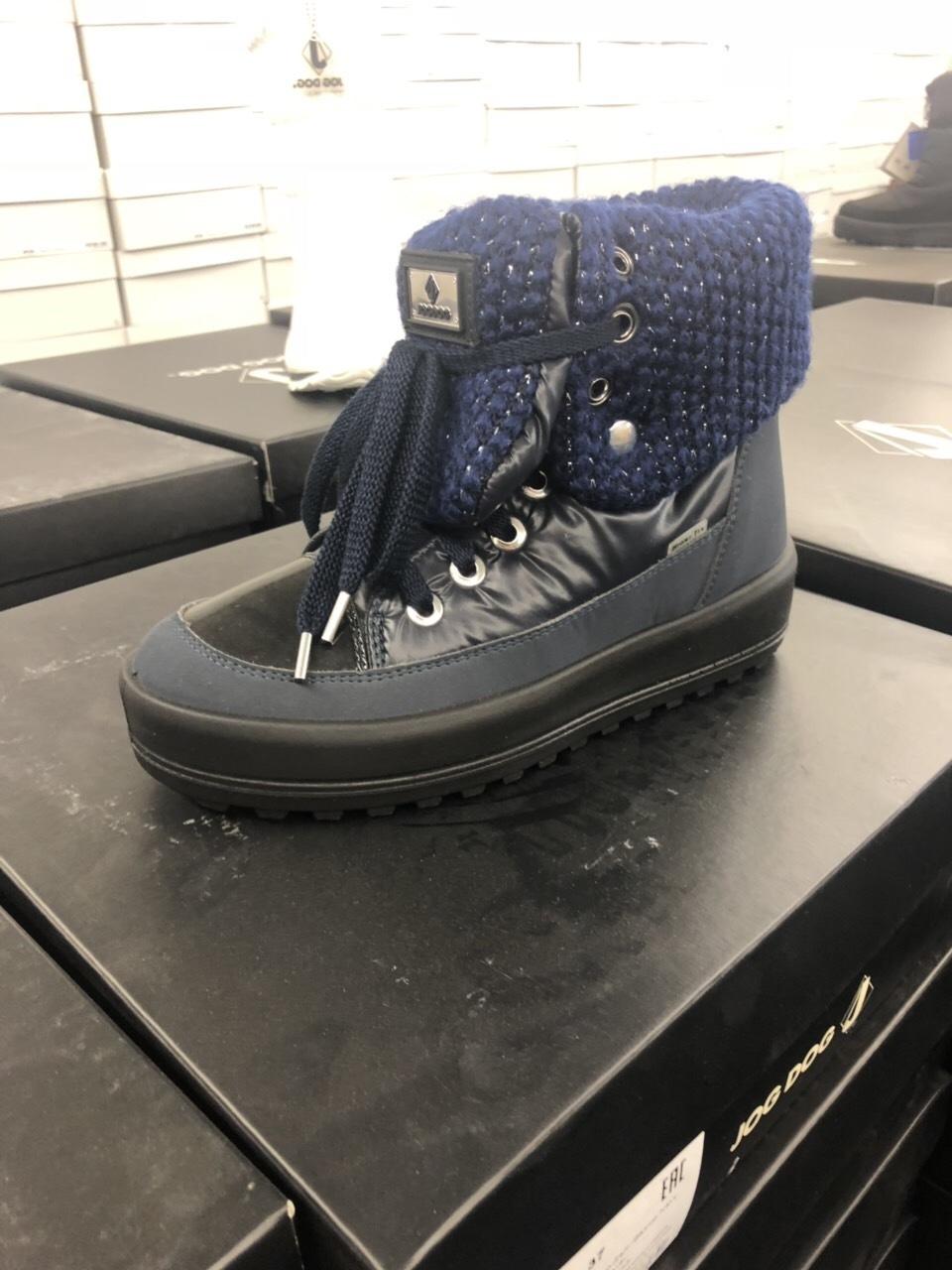 Зимняя итальянская обувь.