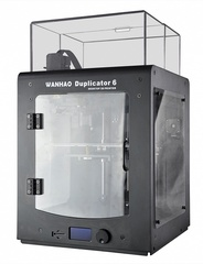 Фотография — 3D-принтер Wanhao Duplicator 6 Plus в пластиковом корпусе
