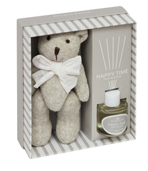 Подарочный ароматический набор Secret De Maison Grey Teddy Bear ( mod. TFP 124GF ) — серый