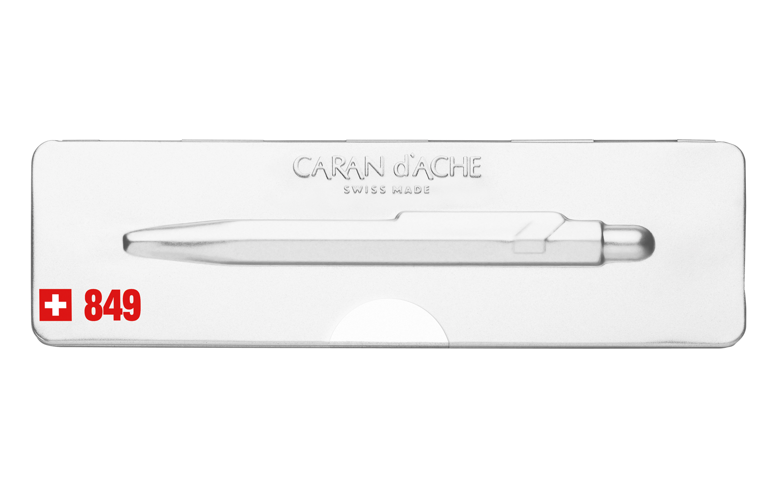 Carandache Office 849 Pop Line - White, шариковая ручка, M