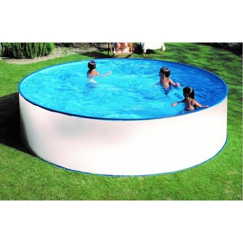 Каркасный круглый бассейн Summer Fun диаметр 4.2м глубина 1.2м, морозоустойчивый 4501010125KB