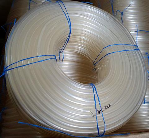 Шланг Ø 10 мм толщина стенки 2 мм силиконовый прозрачный