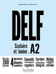 DELF Scolaire et Junior A2 NEd + DVD-ROM