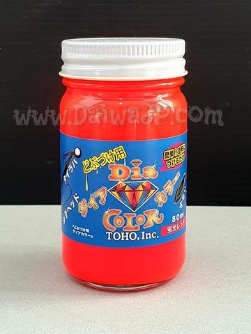Лак TOHO DIA COLOR MANICURE 0481 Красный 80мл