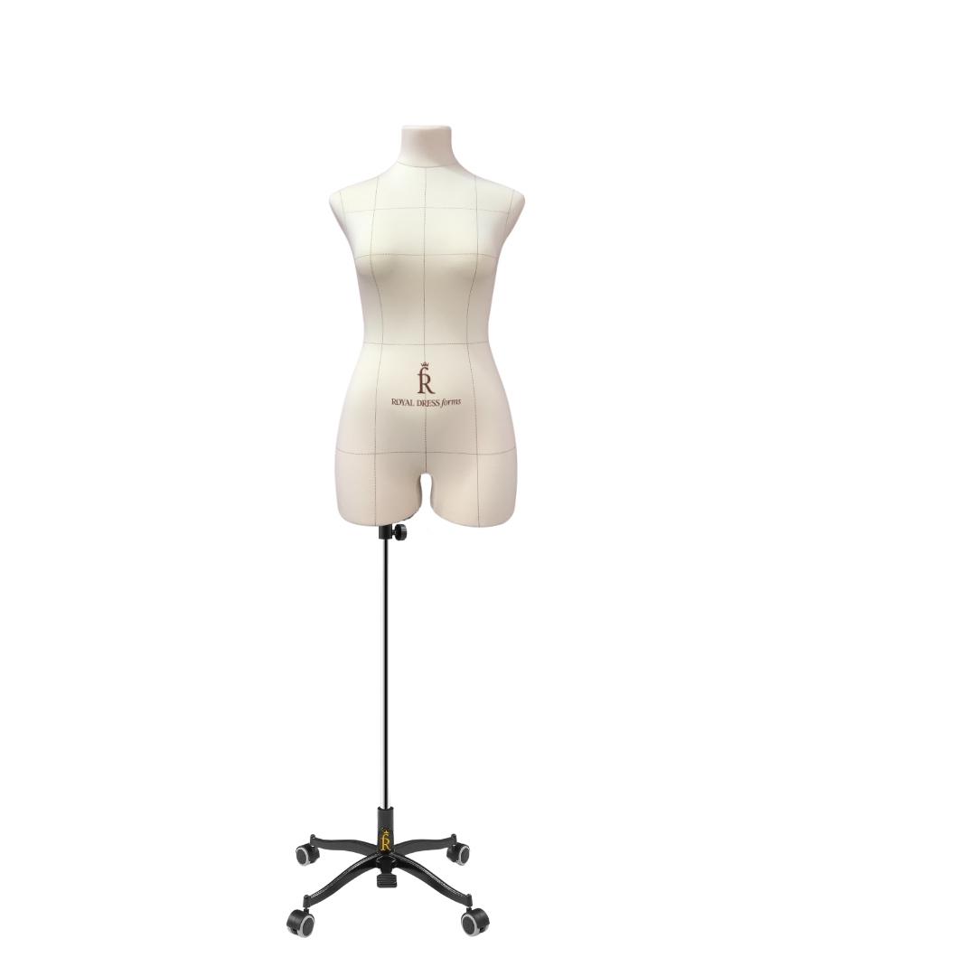 Манекен портновский Виктория, комплект Про, размер 44, тип фигуры Песочные часыФото 1