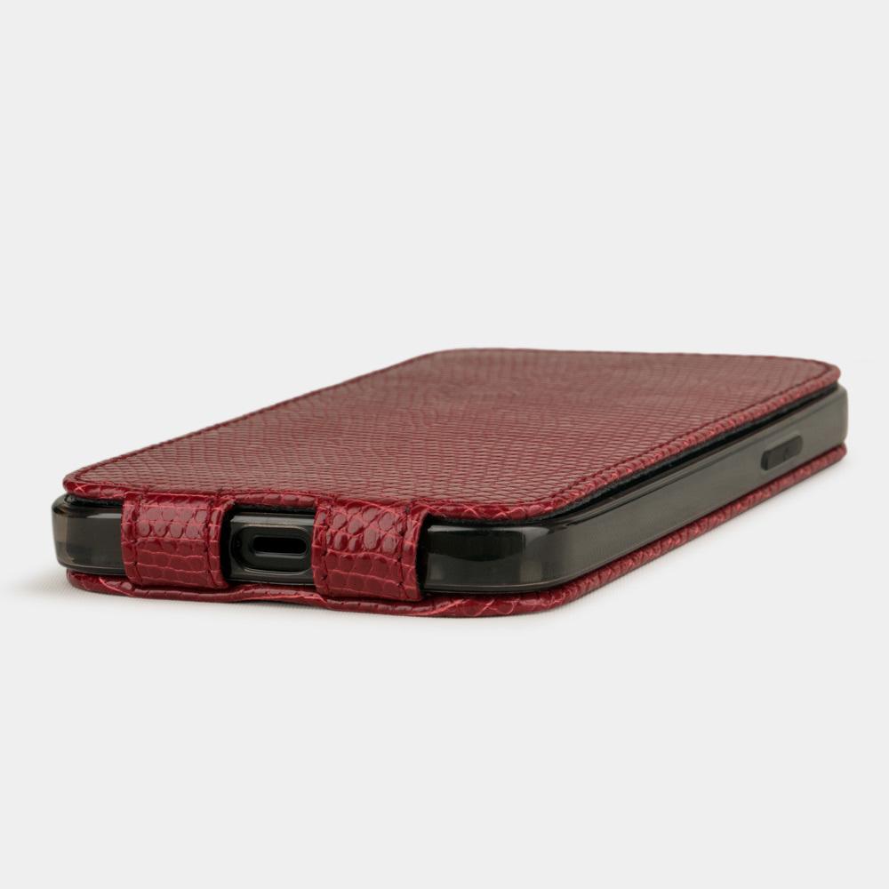 Case for iPhone 12 mini - lizard red