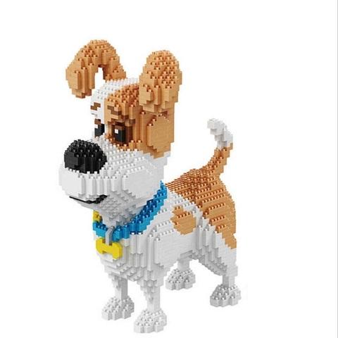 Конструктор 3D  Тайная жизнь домашних животных 16013 Джек рассел терьер Макс, 2100 дет.
