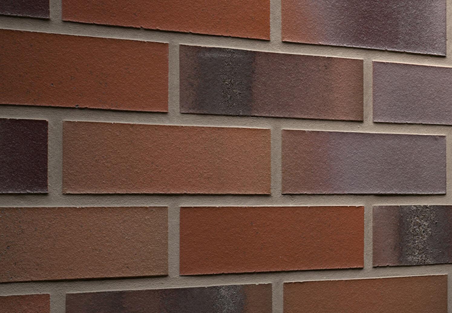 Feldhaus Klinker - R560NF14, Carbona Carmesi Colori, 240x14x71 - Клинкерная плитка для фасада и внутренней отделки