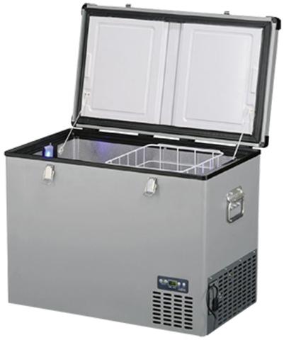 Компрессорный автохолодильник Indel-B TB100 Steel (12V/24V/220V, 100л)