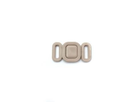 Застежка пластик 9 мм бежевая