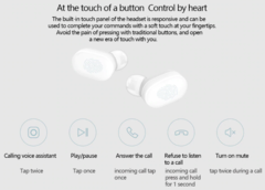 Наушники Xiaomi AirDots EU (Mi True Wireless Earbuds) белый