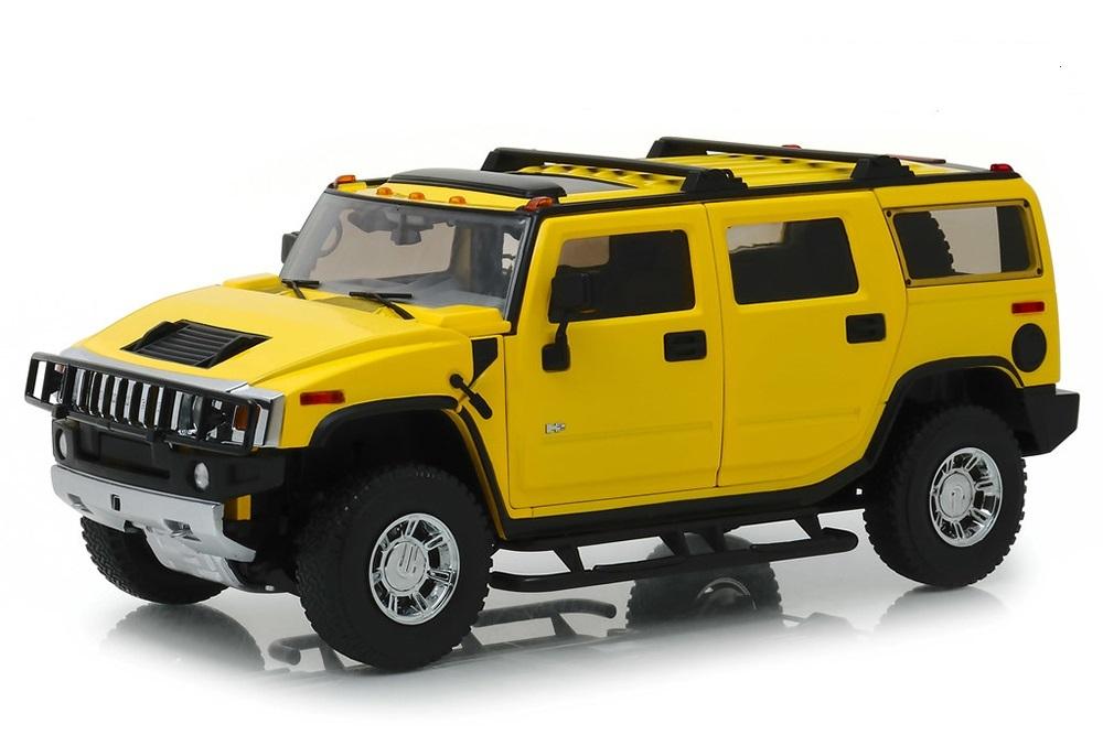 Коллекционная модель HUMMER H2 2003 YELLOW
