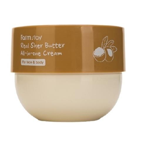 Крем многофункциональный с маслом ши FarmStay Real Shea Butter All-In-One Cream 300мл