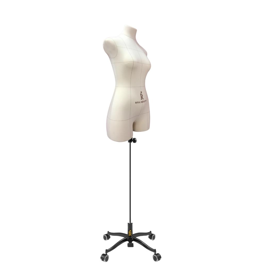 Манекен портновский Виктория, комплект Про, размер 44, тип фигуры Песочные часыФото 2