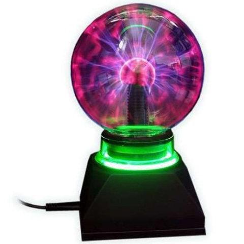 Ночник Magic Flash Ball Плазменный шар Катушка тесла светильник Плазма бол Плазма шар светодиодный