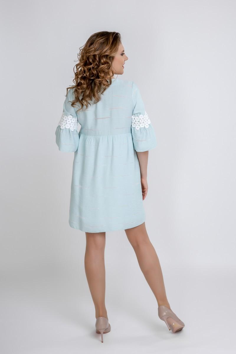 Платье для беременных 09587 ментол