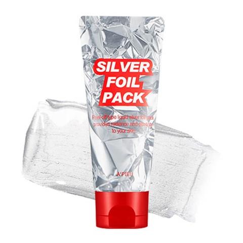 A'Pieu Silver Foil Pack серебряная маска-фольга