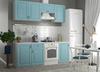 Модульный кухонный гарнитур «Гранд» 2100мм (Зеленый), ЛДСП/МДФ, ДСВ Мебель