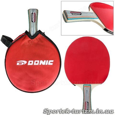 Ракетка для настільного тенісу Donic Waldner Blackpower в чохлі