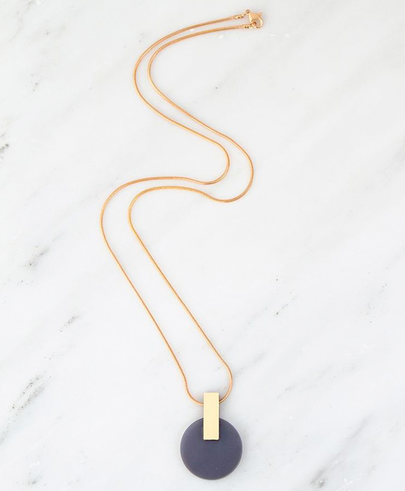 Подвеска Aura Necklace in Navy