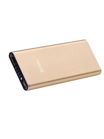 Hoco / Внешний аккумулятор B16 10000 mAh | розовое золото