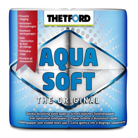 Бумага для биотуалета Thetford Aqua Soft (4 шт), растворимая