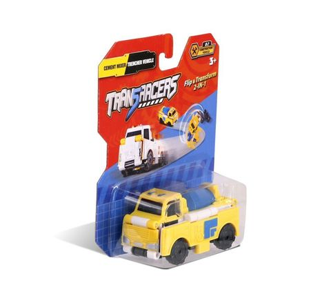 Maşın TransRacers Cement Mixer & Trencher Vehicle