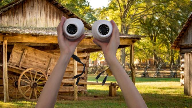 Видеокамеры 1.3 мп в помещение описание