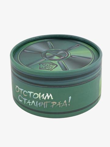 Ремень «Сталинградский» каштанового цвета на бляхе-автомат