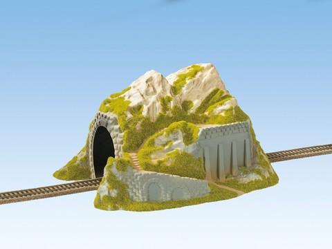 Туннель прямой однопутный 34 x25 cm