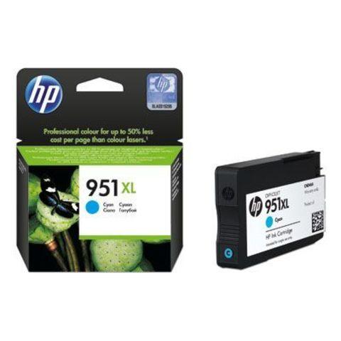 Картридж HP 951XL Officejet (CN046AE) - Голубой картридж HP 951XL для принтеров HP Officejet Pro 8100 ePrinter и HP Officejet Pro 8600 e-All-in-One
