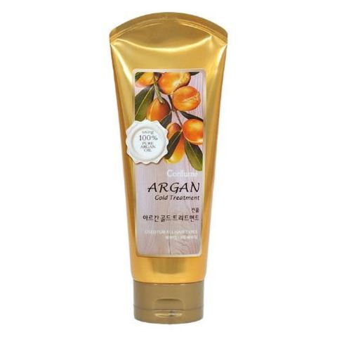 Welcos Увлажняющая маска для волос c аргановым маслом Argan Gold Treatment, 200 мл