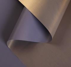 Пленка для цветов перламутровая «Бархат», золотая слива, 0,5 х 10 м